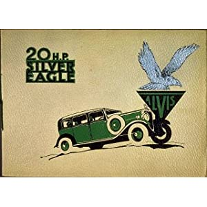 20hp Silver Eagle1 931 30 x 20cms Transport Metal Sign