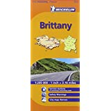 Michelin Map France: Brittany 512 (Maps/Regional (Michelin))