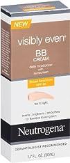 Neutrogena Visibly Even BB Cream Fair To Light 1.7 Fluid Ounce