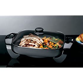 12in x 12in Electric Skillet (AVAILABLE MAY 2008) Small Appliances Grills