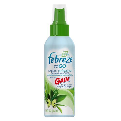 Febreze To Go Fabric Refresher With Gain Original Scent, 2.8-Ounce
