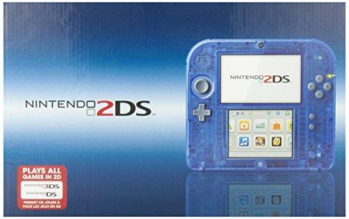 Nintendo 2DS System Crystal Blue ニンテンドー2DS クリスタルブルー【北米版】
