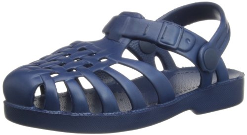 Playshoes 173990, Sandali da mare unisex bambino, Blu (Blau (marine 11)), 22/23