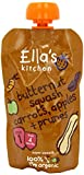 THREE PACKS of EllaS Kitchen Baby Organic Butternut Squash Carrot Apple Prune Baby Food 120
