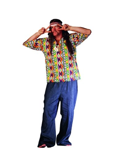 Adult 60's Hippie Guy Costume