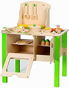 hape wanju 706920 holzk che spielzeug. Black Bedroom Furniture Sets. Home Design Ideas