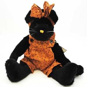 Boyds Bears Plush FELINA B FRAIDY 904493 Halloween Black Cat Plush