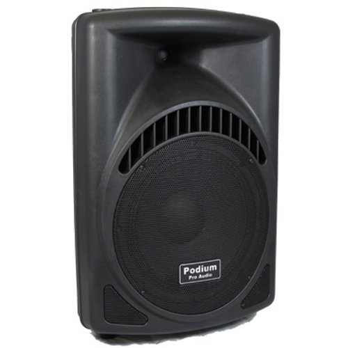 Podium Pro Pp1204Cd1 600 Watts Band Dj Pa Karaoke Active Powered 12-Inch Loud Speaker With Sd Card And Usb Readers