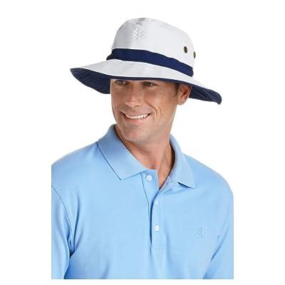 Coolibar UPF 50+ Men's Matchplay Golf Hat - Sun Protective