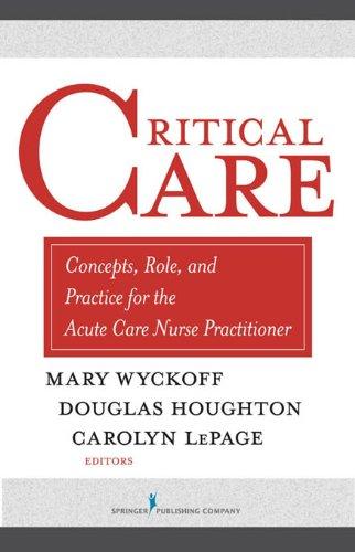 critical care nurse practitioner