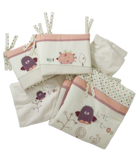 Lollipop Lane Prickles and Twoo Bedding Bale Cot Bed (4 Pieces)