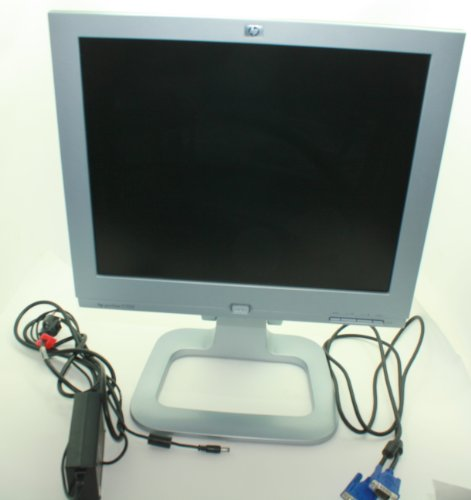 """17"""" Hp Lcd Monitor Pe1245 P9620A With Adjustable Stand"""