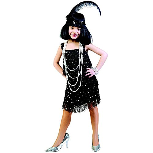 Fannie Fringe Flapper Kids Costume