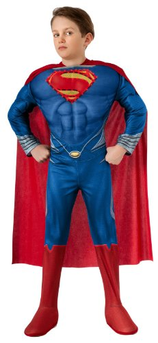 Man of Steel Child's Deluxe Lite Up Superman Costume
