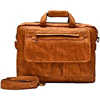 Jocose 15.6 inch Messenger , Laptop , Office Bag for Men, MOB171 (Tan)