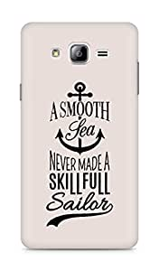 Amez A Smooth Sea Never made a Skillful Sailor Back Cover For Samsung Galaxy ON7