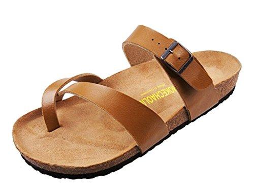 Mens Toe Loop Sandals front-901339