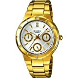 Casio Sheen Ladies Gold Analog Chronograph SHE-3800GD-7AEF