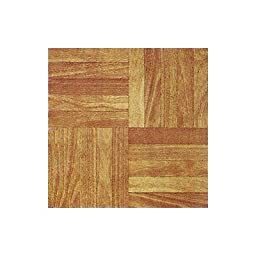 Home Dynamix 12106 Dynamix Vinyl Tile, 12 by 12-Inch, Woodtone, Box of 30