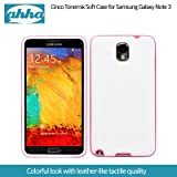Ahha Cinco Tonemix Soft Case For Samsung Galaxy Note 3 - White / Fuchsia (A-SCSGNOTE3-TC24)