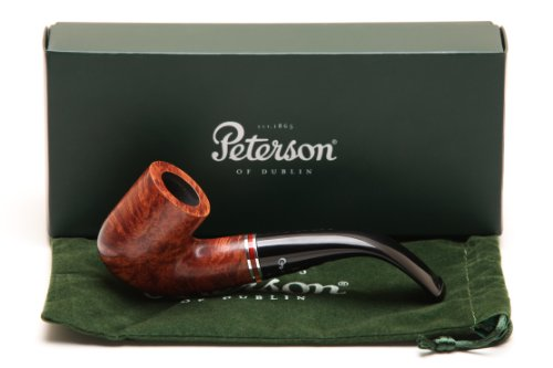 Peterson Dalkey 338 Smooth Tobacco Pipe Fishtail
