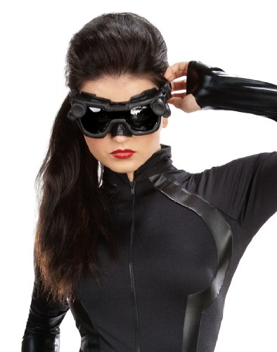 Mask and Goggles for Catwoman Costume - Adult Std.