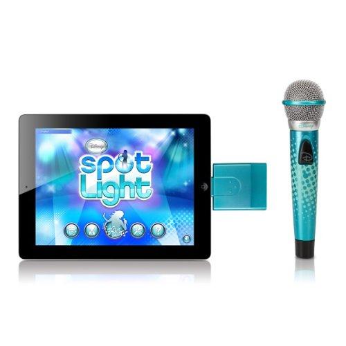 Disney Spotlight Wireless Mic And Karaoke App For Iphone/Ipad