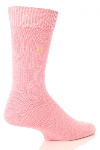 SockShop Farbexplosion Socken aus Baumwolle für Männer - 11 bis 14 Männer - Pink Cloud