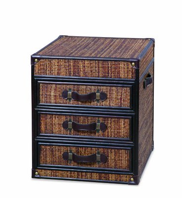 Image of Bassett Mirror Viceroy Trunk Drawer End Table (T2088-200)