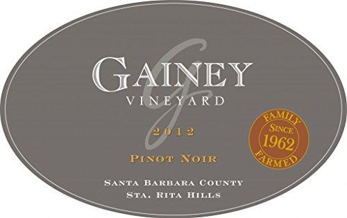 2012 Gainey Vineyard Sta. Rita Hills Pinot Noir 750 Ml