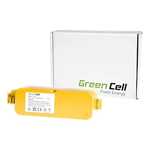 Green Cell® Batteria per iRobot Roomba Pro Elite (Ni-MH pile 3500 mAh 14.4V)