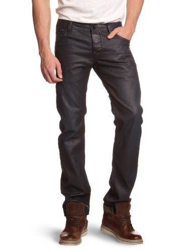 G-Star Raw - Mens Attacc Low Straight Leg Jeans in Dark Aged, Size: 36W x 30L, Color: Dark Aged