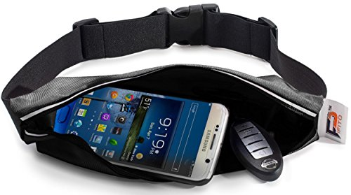 Running-Belt-Waist-Pack-by-Pifito-TM-Outdoor-Pouch-Bag-for-Sports-Hiking-Exercise-Walking-Fitness-Jogging-or-Gym-Workout-Durable-Fanny-Pack-Fits-all-Phones