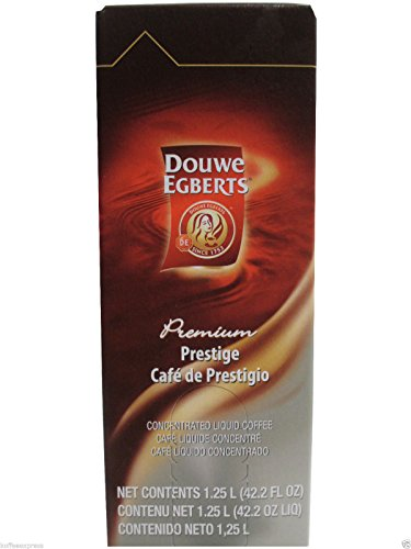 Douwe Egberts Prestige Blend Liquid Coffee (One Box/1.25 Liters) (Douwe Egberts Liquid Coffee compare prices)
