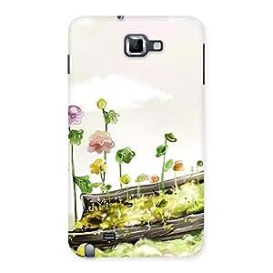 Impressive Fence Landscape Multicolor Back Case Cover for Galaxy Note