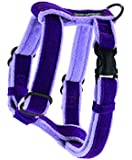 Planet Dog Cozy Hemp Adjustable Harness, Purple, Large