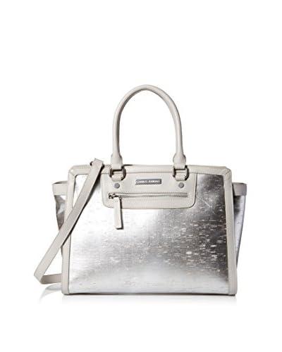 Charles Jourdan Women's Wallis Tote Bag, Silver