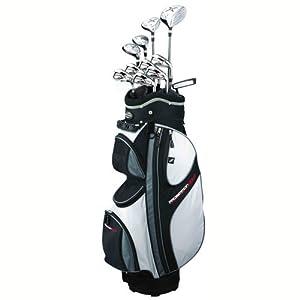 Prosimmon Golf X9 Mens Graphite & Steel Hybrid Club Set & Bag