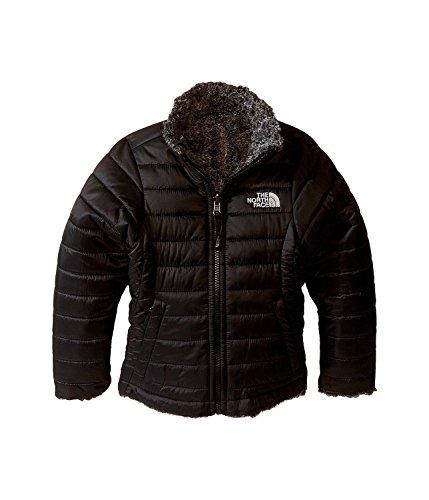 The North Face Reversible Mossbud Swirl Jacket Girls` TNF Black/TNF Black Heather X-Large