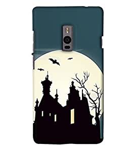 Go Yankee mood scene back case cover for One Plus Two