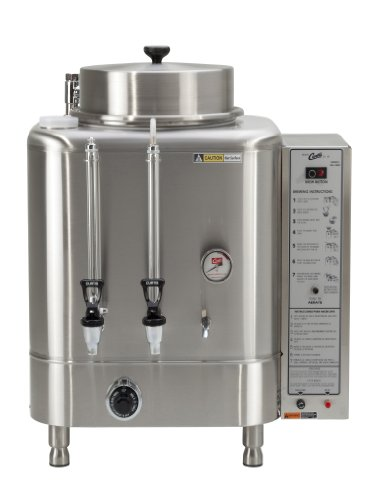 Wilbur Curtis Automatic Coffee Urn 6.0 Gallon Single Coffee Brewer, 3Ph 3W+G 208/220V 20A 7500W - Commercial-Grade Automatic Coffee Brewer - RU-225-20 (Each)