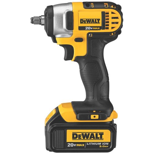 DEWALT DCF883L2 20-Volt MAX Lithium Ion 3/8-Inch Impact Wrench with Hog Ring