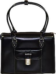 McKlein USA Genuine Leather Women\'s Briefcase - 15.6\