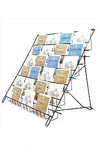 Espositore stand porta cartoline d auguri e dvd pieghevole - Porta cartoline ...