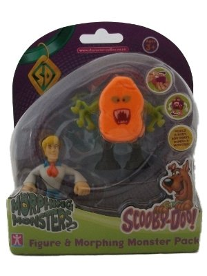 Scooby Doo Morphing Monsters Fred Figure & Morphing Monster Color/Monster May Vary