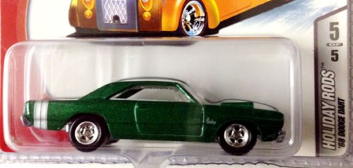 Hot Wheels 2006 Holiday Rods Limited Edition / Green '68 Dodge Dart Die Cast Collectible / #5 Of 5