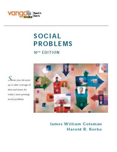 Social Problems, VangoBooks (10th Edition)