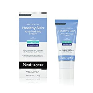 Neutrogena Healthy Skin Anti-Wrinkle Cream, SPF 15, 1.4 Ounce