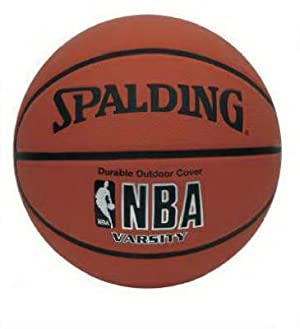 Spalding NBA Varsity Rubber Outdoor Basketball - Official Size 7