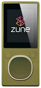 Zune 4 GB Digital Media Player (Green)